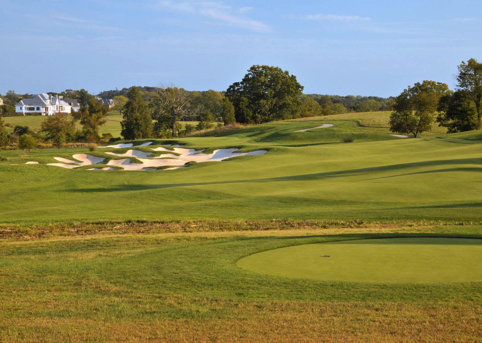 creighton farms golf course first hole