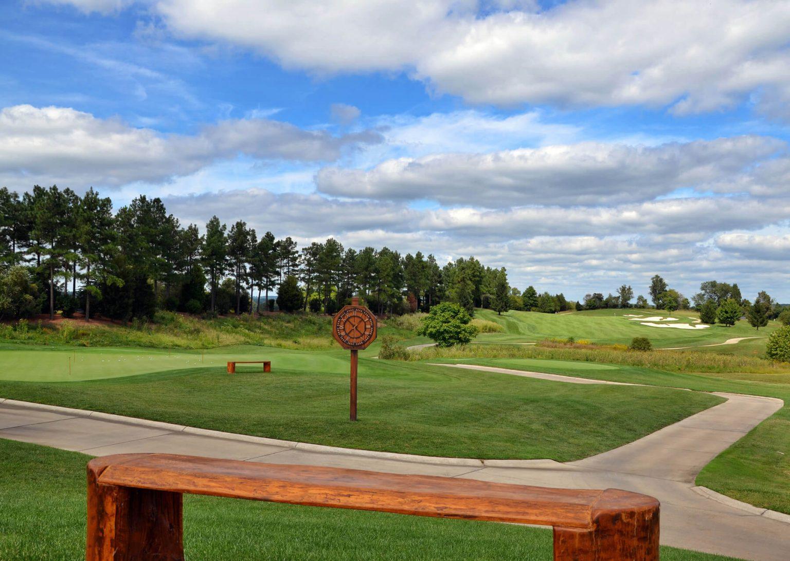 creighton farms golf course tenth hole