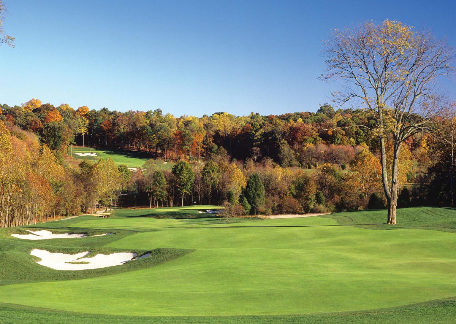 creighton farms golf course eleventh hole