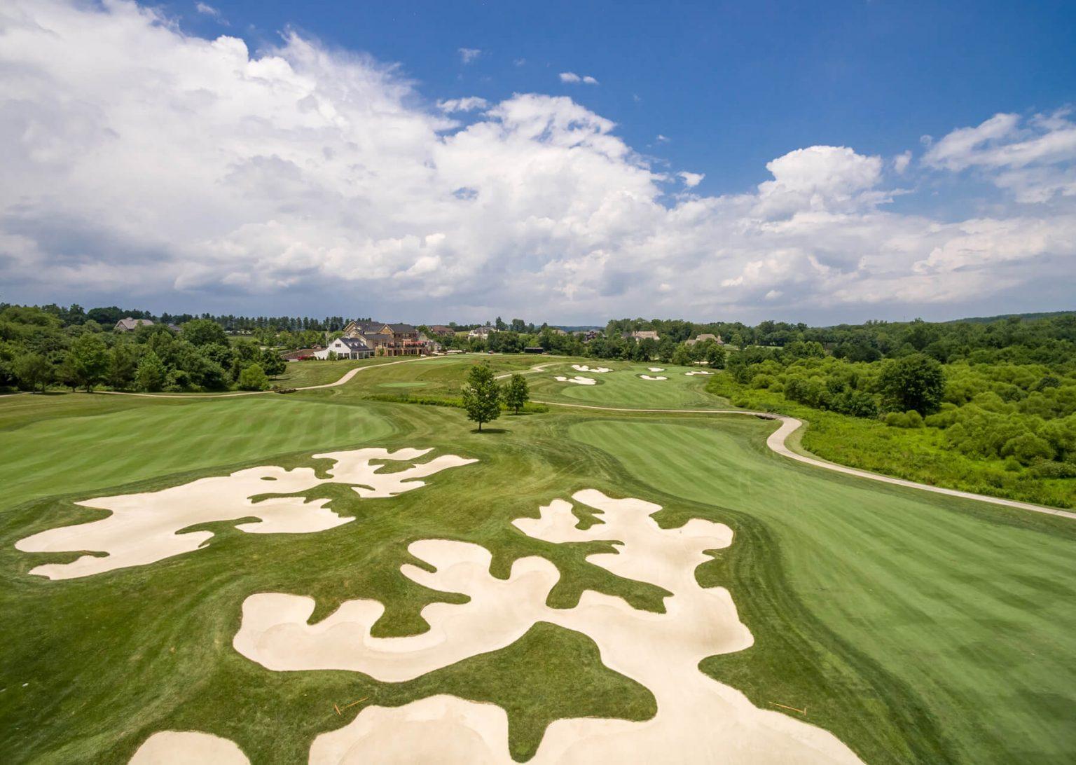 creighton golf club bunkers