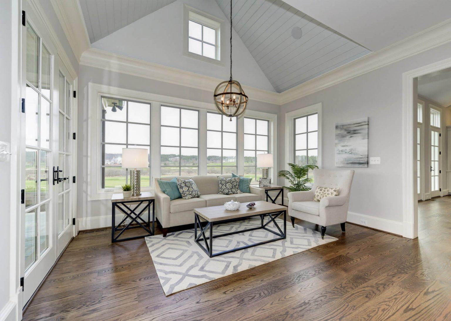bright sitting room